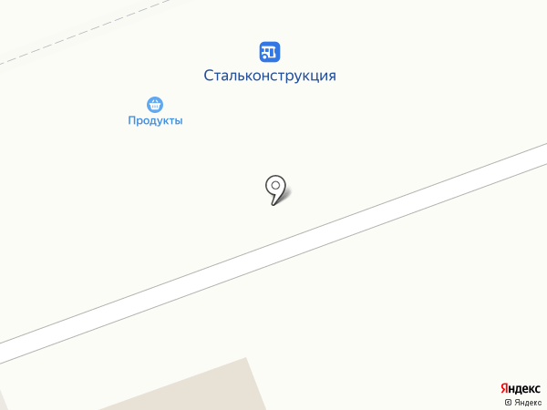 На Стальконструкции на карте Ангарска