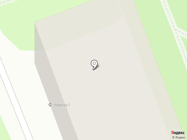 Черутти на карте Ангарска