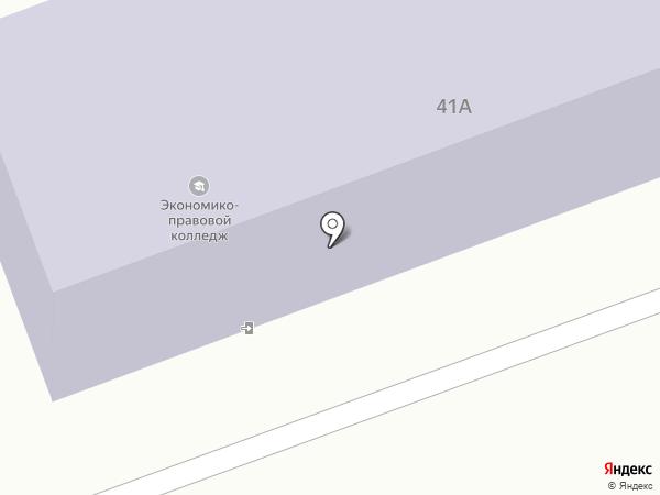 Восточно-Сибирский институт экономики и права на карте Ангарска