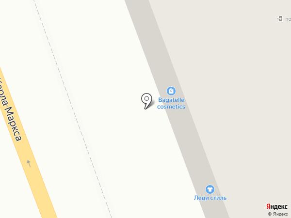 Леди стиль на карте Ангарска