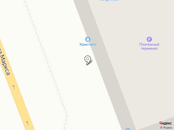 Риас на карте Ангарска