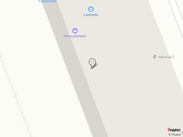 Орленок на карте Ангарска