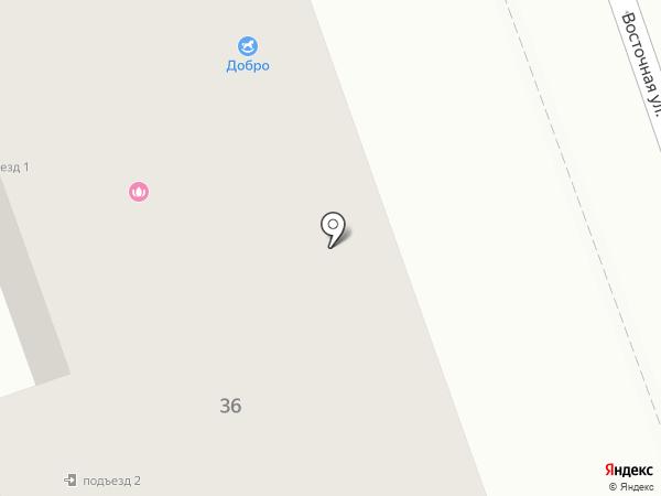 Добро на карте Ангарска