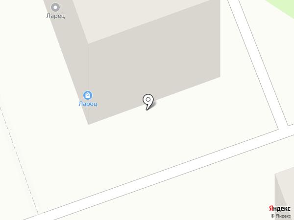 Ларец на карте Ангарска
