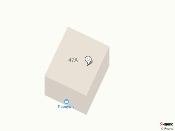 Продуктовый магазин на карте Мотов