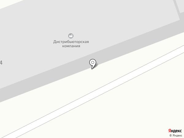 Дистрибьюторская компания на карте Ангарска
