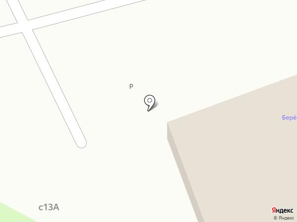 Березовая роща на карте Ангарска