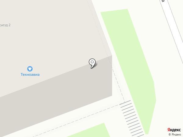 Техноавиа-Иркутск на карте Ангарска