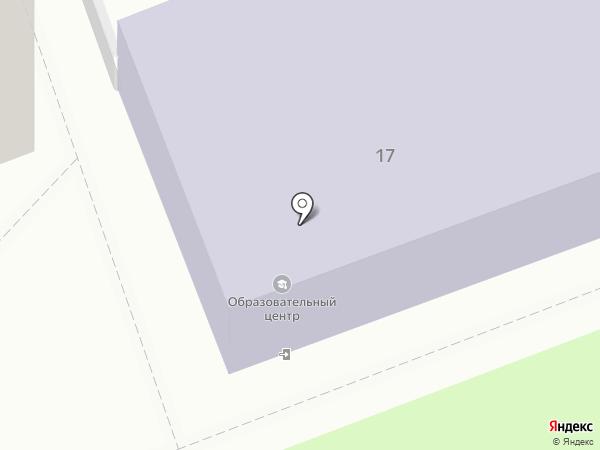 Ангарский образовательный центр на карте Ангарска