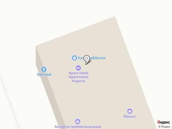 Бриг на карте Ангарска