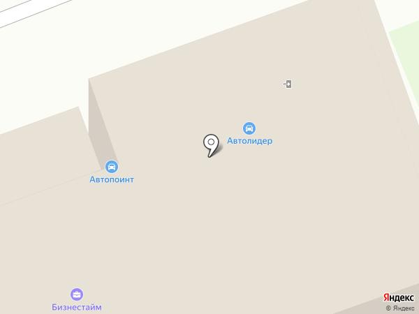 Автогарант на карте Ангарска