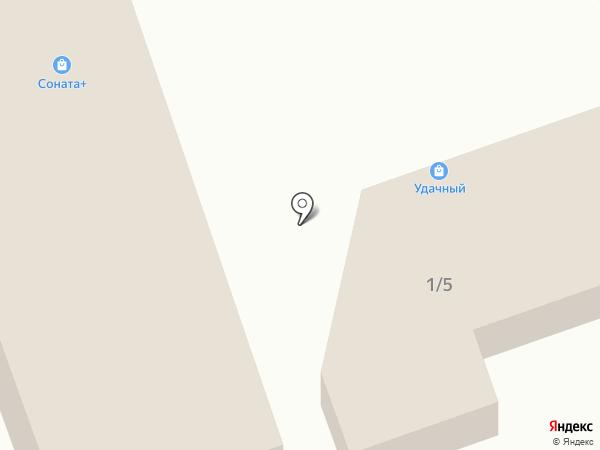 Удачный на карте Ангарска