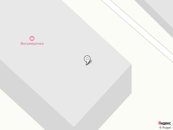 Пластик авто на карте Ангарска