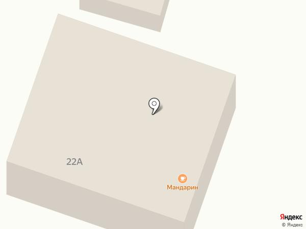 Мандарин на карте Мотов