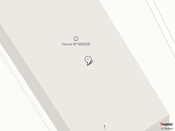 Почтовое отделение №28 на карте Ангарска