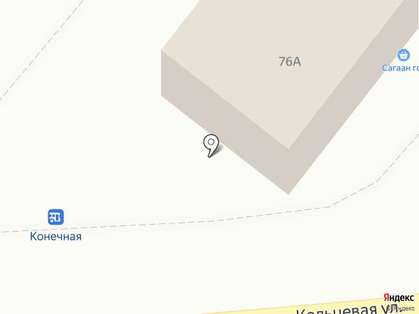 Дальний на карте Шелехова