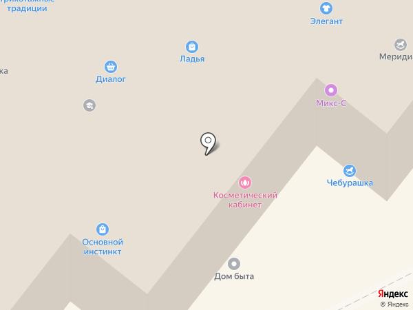 Кит на карте Шелехова