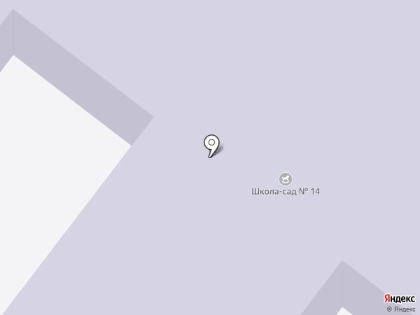 Начальная школа-детский сад №14 на карте Шелехова
