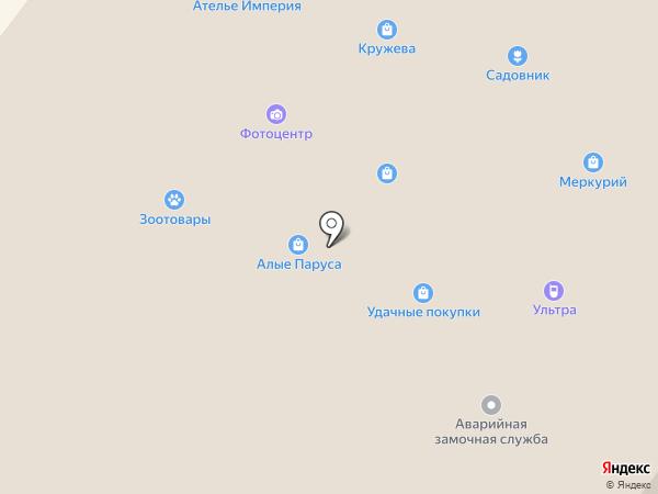 Магазин карнизов на карте Шелехова