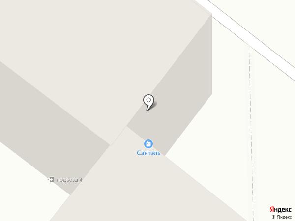 Сантэль на карте Шелехова