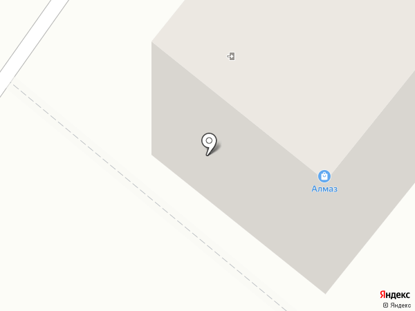 Алмаз на карте Шелехова