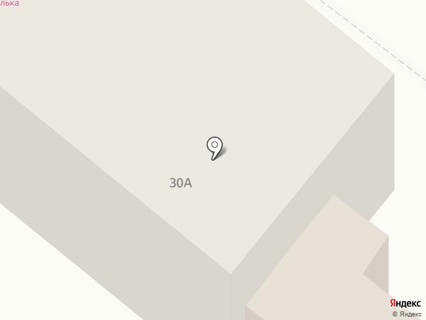 Магазин продуктов на карте Шелехова