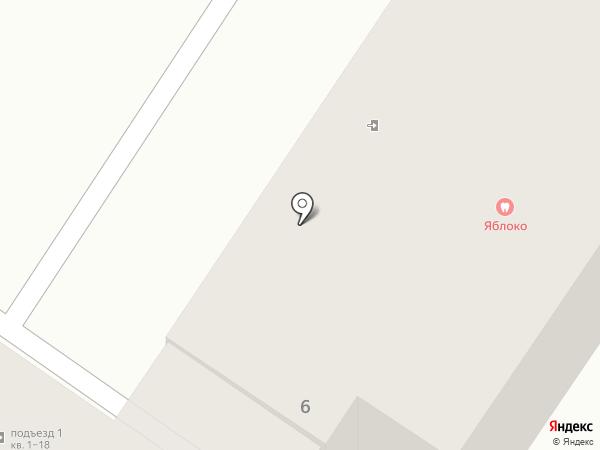 Яблоко на карте Шелехова