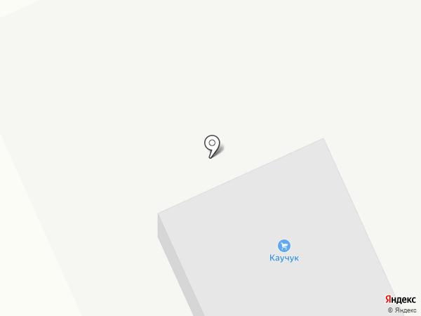 Каучук на карте Шелехова