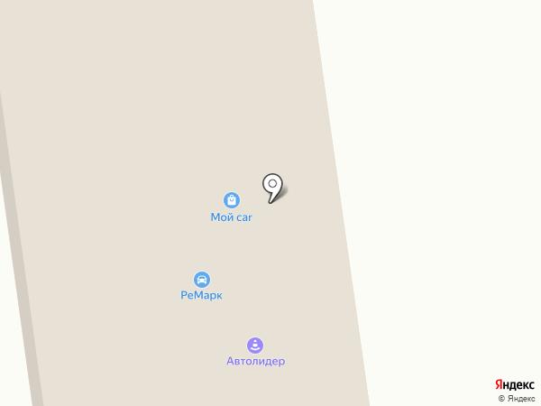 Автолидер на карте Шелехова