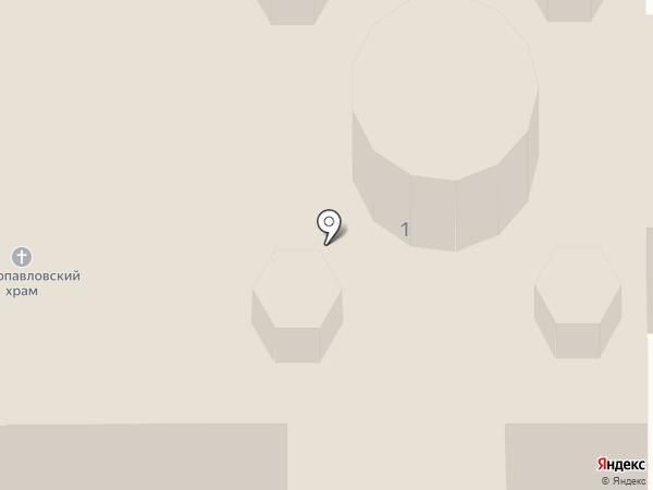 Храм святых первоверховных апостолов Петра и Павла на карте Шелехова