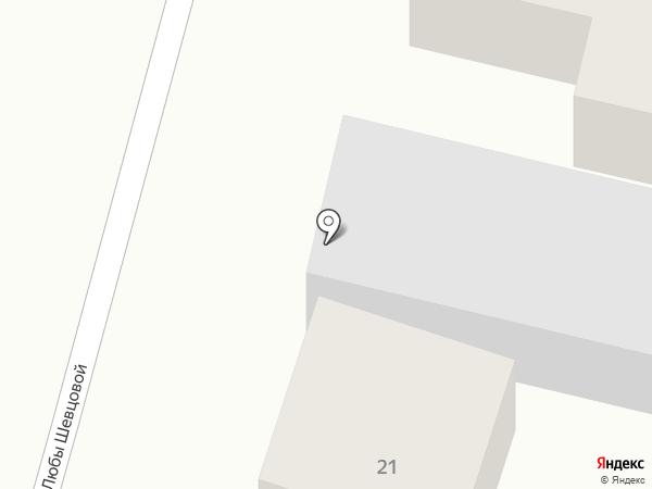 Юсэр на карте Шелехова