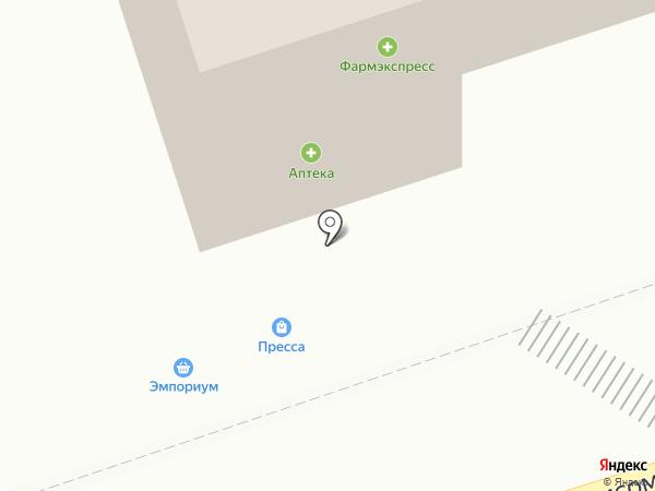 Киоск по продаже печатной продукции на ул. 18-й квартал на карте Шелехова