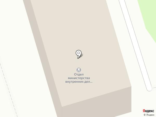 Отдел МВД России по Шелеховскому району на карте Шелехова