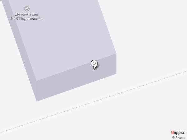 Детский сад №9 на карте Шелехова