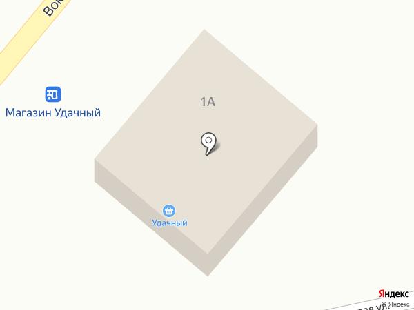Удачный на карте Большого Луга