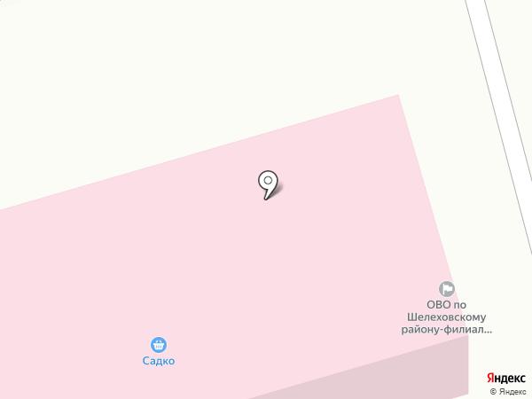 Отдел вневедомственной охраны по Шелеховскому району на карте Шелехова