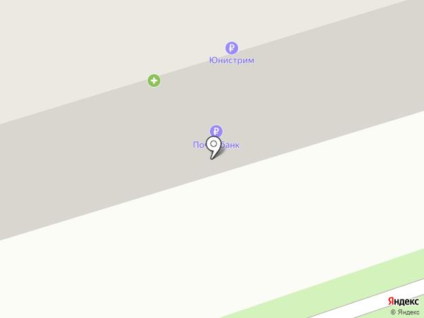 Почтовое отделение №4 на карте Шелехова