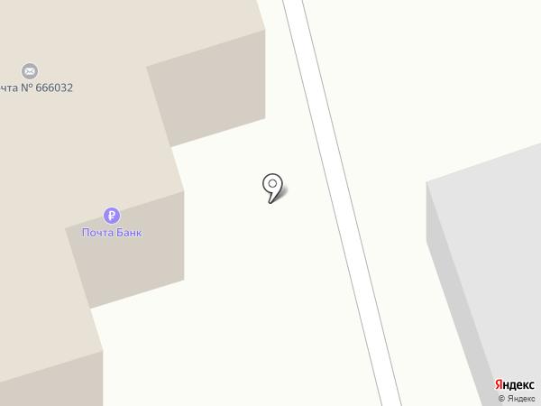 Почтовое отделение №2 на карте Шелехова