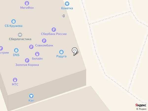 ДНС на карте Шелехова