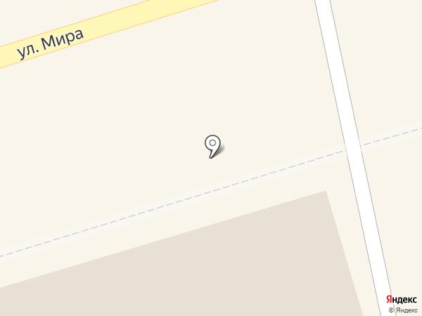 Комбинат детского питания, МУП на карте Шелехова