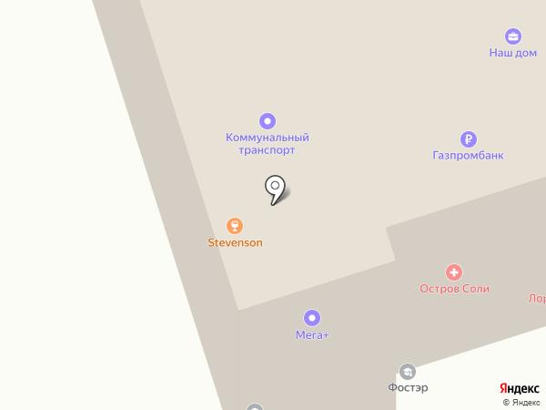 Банкомат, Газпромбанк на карте Шелехова