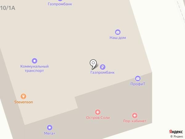Колизей на карте Шелехова