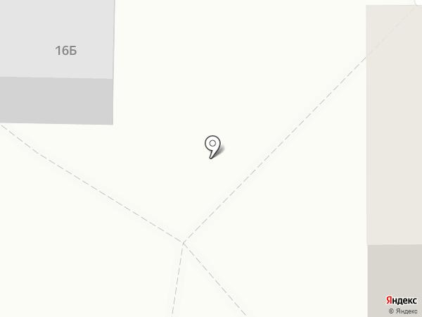 Белореченское на карте Шелехова