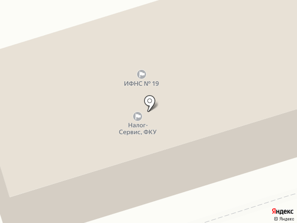 ИФНС на карте Шелехова
