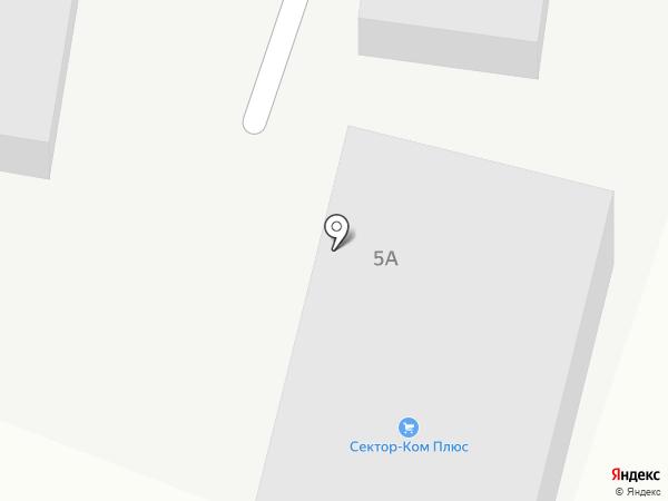 Сектор Ком Плюс на карте Шелехова