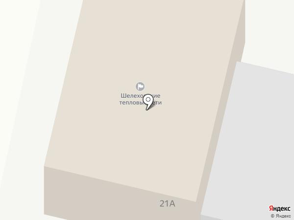 Шелеховские тепловые сети на карте Шелехова