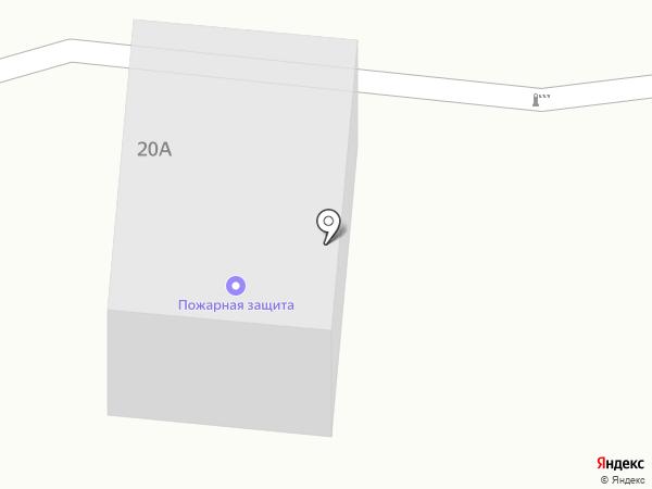 Пожарная защита на карте Шелехова
