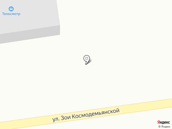 Автосервис на карте Смоленщины