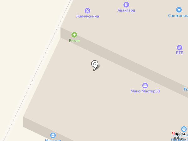 Аллегро на карте Иркутска