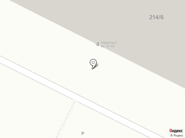 Народная на карте Иркутска
